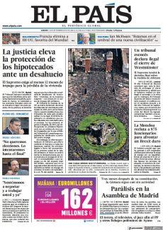 LA JUSTICIA ELEVA LA PROTECCIÓN DE LOS HIPOTECADOS ANTE UN DESAHUCIO