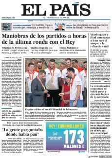 MANIOBRAS DE LOS PARTIDOS A HORAS DE LA ÚLTIMA RONDA CON EL REY