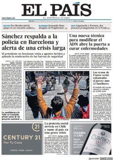 LA PROTESTA SOCIAL ARRECIA EN CHILE Y SUME AL PAÍS EN UNA GRAVE CRISIS