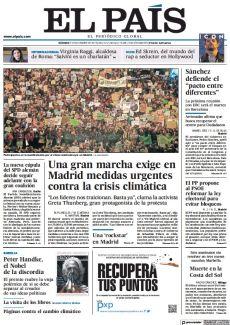 UNA GRAN MARCHA EXIGE EN MADRID MEDIDAS URGENTES CONTRA LA CRISIS CLIMÁTICA