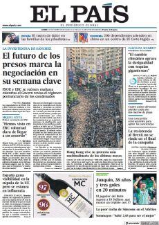 EL FUTURO DE LOS PRESOS MARCA LA NEGOCIACIÓN EN SU SEMANA CLAVE
