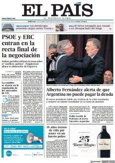 ALBERTO FERNÁNDEZ ALERTA DE QUE ARGENTINA NO PUEDE PAGAR LA DEUDA