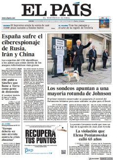 LOS SONDEOS APUNTAN A UNA MAYORÍA ROTUNDA DE JOHNSON