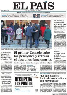 EL PRIMER CONSEJO SUBE LAS PENSIONES Y RETRASA EL ALZA A LOS FUNCIONARIOS