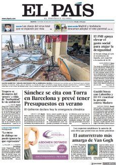 CUATRO MUERTOS Y GRAVES DESTROZOS POR LA BORRASCA GLORIA.