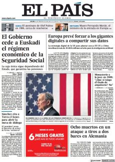 EL GOBIERNO CEDE A EUSKADI EL RÉGIMEN ECONÓMICO DE LA SEGURIDAD SOCIAL