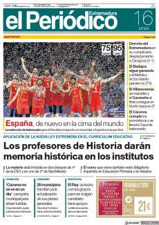 ESPAÑA, DE NUEVO EN LA CIMA DEL MUNDO