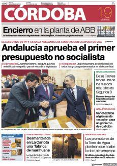ANDALUCÍA APRUEBA EL PRIMER PRESUPUESTO NO SOCIALISTA