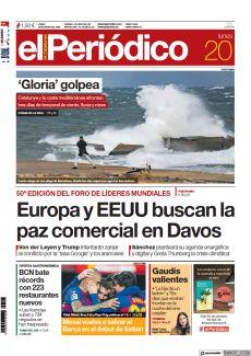 50ª EDICIÓN DEL FORO DE LÍDERES MUNDIALES EUROPA Y EEUU BUSCAN LA PAZ COMERCIAL EN DAVOS