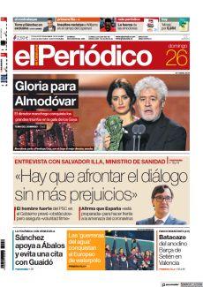 ENTREVISTA CON SALVADOR ILLA, MINISTRO DE SANIDAD