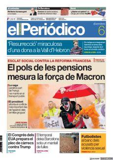 EL POLS DE LES PENSIONS MESURA LA FORÇA DE MACRON
