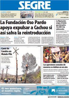 LA FUNDACIÓN OSO PARDO APOYA EXPULSAR A CACHOU SI ASÍ SALVA LA REINTRODUCCIÓN