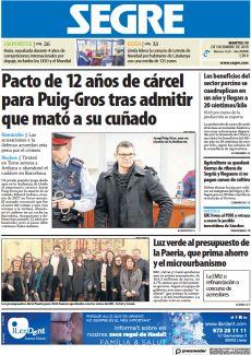 PACTO DE 12 AÑOS DE CÁRCEL PARA PUIG-GROS TRAS ADMITIR QUE MATÓ A SU CUÑADO