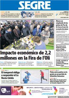 IMPACTO ECONÓMICO DE 2,2 MILLONES EN LA FIRA DE L'OLI