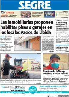 LAS INMOBILIARIAS PROPONEN HABILITAR PISOS O GARAJES EN LOS LOCALES VACÍOS DE LLEIDA