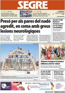 PRESÓ PER ALS PARES DEL NADÓ AGREDIT, EN COMA AMB GREUS LESIONS NEUROLÒGIQUES