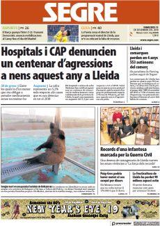 HOSPITALS I CAP DENUNCIEN UN CENTENAR D'AGRESSIONS A NENS AQUEST ANY A LLEIDA