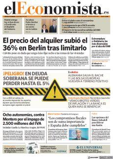 ¡PELIGRO! EN DEUDA SOBERANA SE PUEDE PERDER HASTA EL 5%