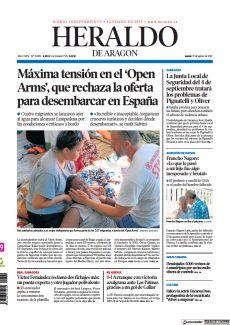MÁXIMA TENSIÓN EN EL 'OPEN ARMS', QUE RECHAZA LA OFERTA PARA DESEMBARCAR EN ESPAÑA