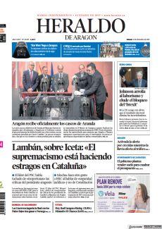 ARAGÓN RECIBE OFICIALMENTE LOS CASCOS DE ARANDA