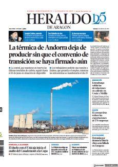 LA TÉRMICA DE ANDORRA DEJA DE PRODUCIR SIN QUE EL CONVENIO DE TRANSICIÓN SE HAYA FIRMADO AÚN