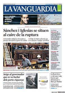 SÁNCHEZ I IGLESIAS SE SITUEN AL CAIRE DE LA RUPTURA