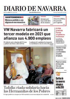 TAFALLA: RIADA SOLIDARIA HACIA LAS HERMANITAS DE LOS POBRES