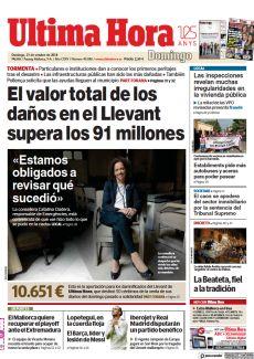 PART FORANA EL VALOR TOTAL DE LOS DAÑOS EN EL LLEVANT SUPERA LOS 91 MILLONES