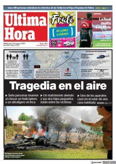 TRAGEDIA EN EL AIRE
