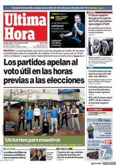 LOS PARTIDOS APELAN AL VOTO ÚTIL EN LAS HORAS PREVIAS A LAS ELECCIONES