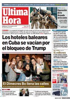 LOS HOTELES BALEARES EN CUBA SE VACÍAN POR EL BLOQUEO DE TRUMP