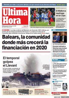BALEARS, LA COMUNIDAD DONDE MÁS CRECERÁ LA FINANCIACIÓN EN 2020