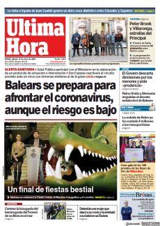 BALEARS SE PREPARA PARA AFRONTAR EL CORONAVIRUS, AUNQUE EL RIESGO ES BAJO