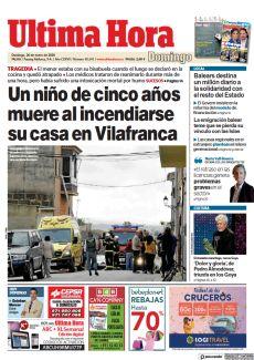 UN NIÑO DE CINCO AÑOS MUERE AL INCENDIARSE SU CASA EN VILAFRANCA