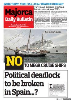 NO TO MEGA CRUISE SHIPS