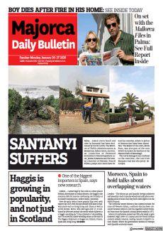 SANTANYI SUFFERS