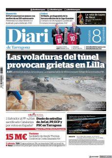 LAS VOLADURAS DEL TÚNEL PROVOCAN GRIETAS EN LILLA
