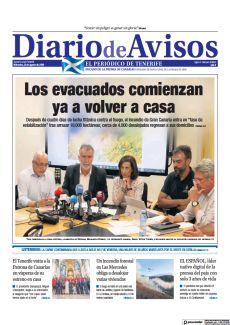 LOS EVACUADOS COMIENZAN YA A VOLVER A CASA