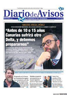 """""""ANTES DE 10 O 15 AÑOS CANARIAS SUFRIRÁ OTRO DELTA, Y DEBEMOS PREPARARNOS"""""""