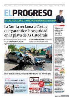 DOS MUERTOS EN ACCIDENTE DE MOTO EN MONFORTE