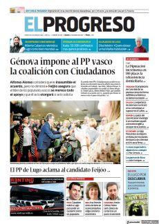 EL PP DE LUGO ACLAMA AL CANDIDATO FEIJÓO