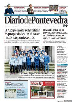 EL ARI PERMITE REHABILITAR 35 PROPIEDADES EN EL CASCO HISTÓRICO PONTEVEDRÉS