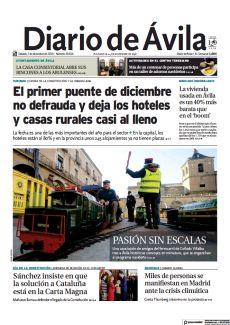| FIESTAS DE LA CONSTITUCIÓN Y LA INMACULADA EL PRIMER PUENTE DE DICIEMBRE NO DEFRAUDA Y DEJA LOS HOTELES Y CASAS RURALES CASI AL LLENO