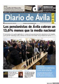 LOS PENSIONISTAS DE ÁVILA COBRAN UN 13,6% MENOS QUE LA MEDIA NACIONAL