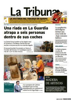 EL TEMPORAL TAMBIÉN HA AZOTADO CON FUERZA AL CORREDOR DEL HENARES. EN GUADALAJARA CAYERON MÁS DE 12 L/M2 EN DIEZ MINUTOS