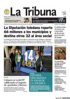 LA DIPUTACIÓN TOLEDANA REPARTE 66 MILLONES A LOS MUNICIPIOS Y DESTINA OTROS 32 AL ÁREA SOCIAL