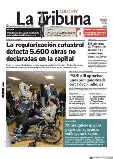 D LAS MEDICINAS MÁS ESCASAS EN LAS FARMACIAS LA REGULARIZACIÓN CATASTRAL DETECTA 5.600 OBRAS NO DECLARADAS EN LA CAPITAL