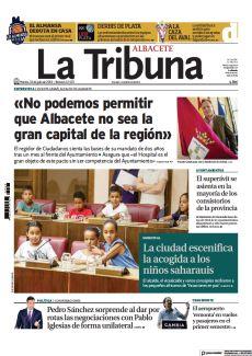 LA CIUDAD ESCENIFICA LA ACOGIDA A LOS NIÑOS SAHARAUIS