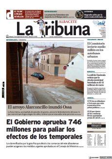EL ARROYO ALARCONCILLO INUNDÓ OSSA