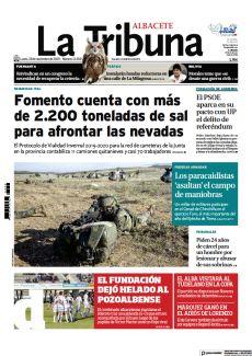 FOMENTO CUENTA CON MÁS DE 2.200 TONELADAS DE SAL PARA AFRONTAR LAS NEVADAS